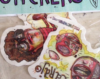 Weirdo Sticker Pack