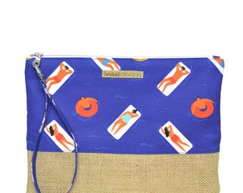 The swimmers strap bag