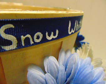 Snow White Quote Basket