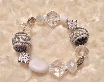 Ice Princess Beaded Bracelet