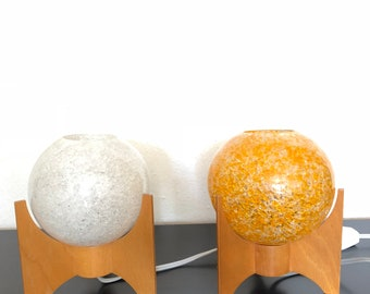 Vintage table lamps by Pokrok Zilina in 1960s