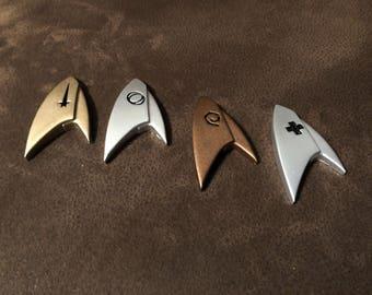 Star Trek Discovery Badges