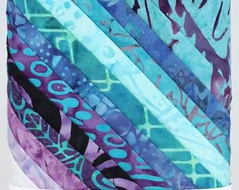 "Tonga Treats Batik ""MYSTICAL"" Fat Quarter Bundle, 12 Timeless Treasures  Precut Fabric"