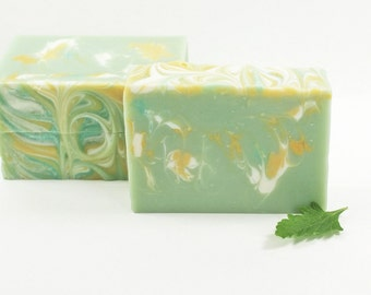 Swirled Soap, Luxury Soap, Unique Soap, Vegan Soap, Fun Soap, Fresh Floral Scent, Bestfriend Gift, Gift Idea For Her | Sage Spa Soap
