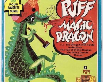 Puff the Magic Dragon (1973) 45 Vinyl Record