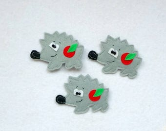 Brooch, baby gift, kids toy, felt brooches, birthday, brooches for kids