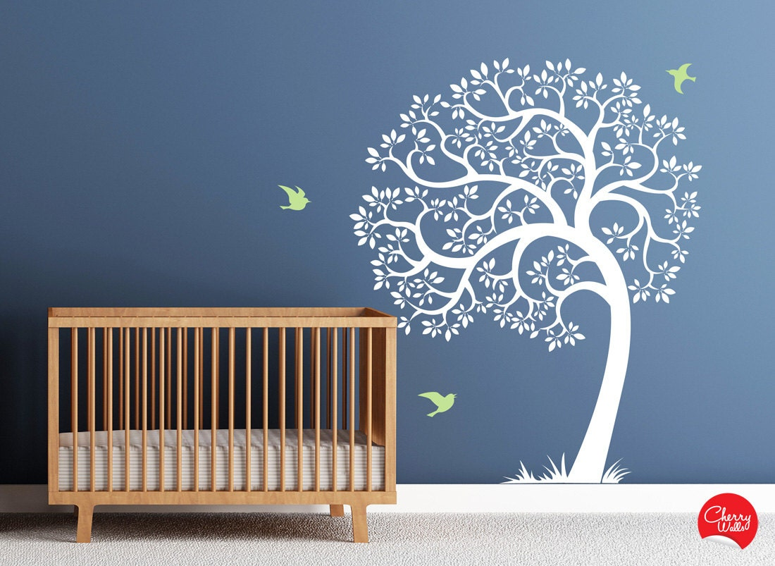 Tree Wall decal AMAZING tree removable vinyl decal. Nursery