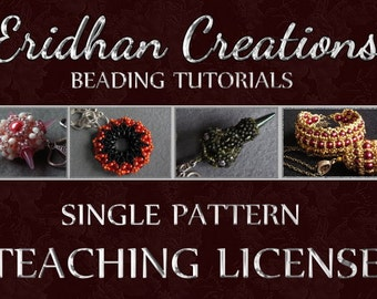 Teaching License (Single Pattern ONLY)