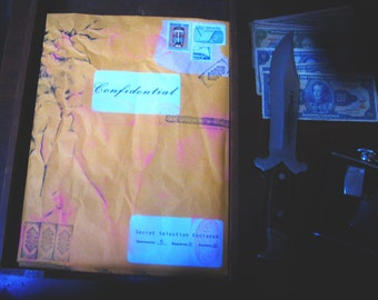 "Erotic Pop Art Blind Box Mystery Print Pack ""Confidential"" #10 [5 random prints, possible sizes 4x6/8x8/8x10]"