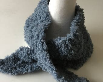 Wool Fur scarf