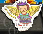"3"" Sticker: Angel..."