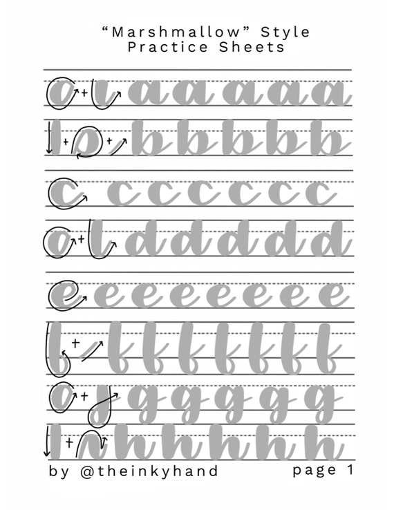 Critical image regarding calligraphy worksheets printable
