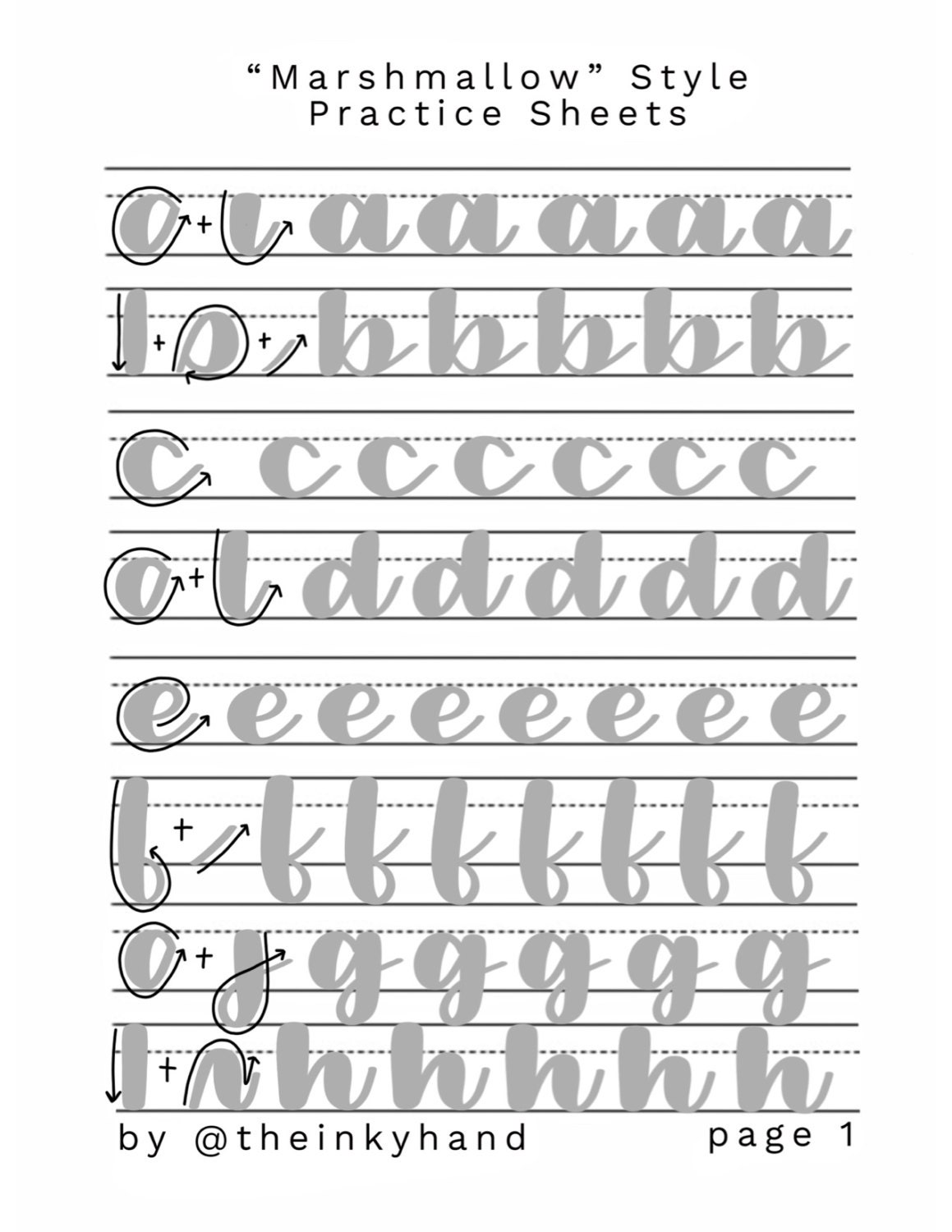 It's just a picture of Gratifying Calligraphy Practice Sheets Printable