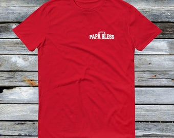 Papa Bless Shirt in Red