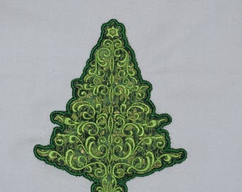 Christmas tree Towel