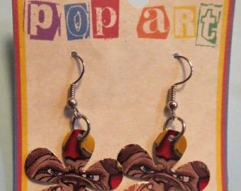 Soda Can Flower Earrings