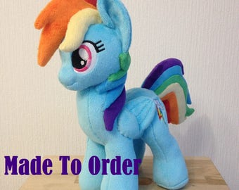 Plushie Rainbow Dash - Made To Order