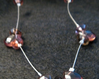 A Touch of Purple Glamor Necklace