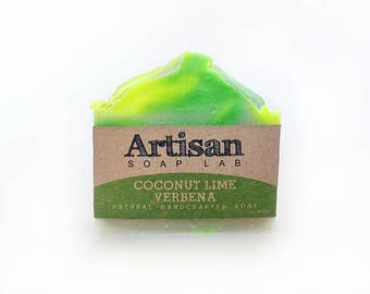 Coconut Lime Verbena Handcrafted Soap