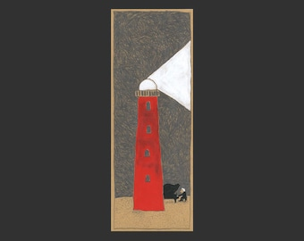 Drawing »lighthouse«