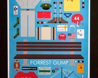 Forrest Gump • Movie Parts Poster