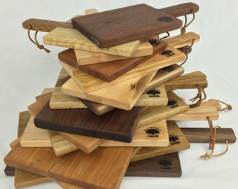 Paddle Cutting Board and Cheese Board