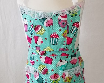 Cupcake Girls Apron #1