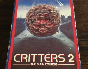 Critters 2 The Main Course VHS Horror