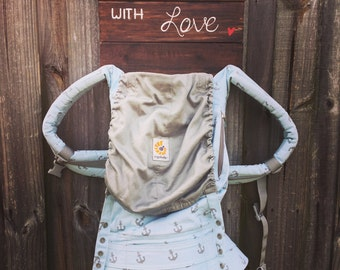 Carried with love baby carrier holder