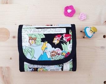 Alice fabric  fold  wallet (Ready-to-ship)