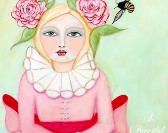 Stella Primrose Hawthorn - The Bee Girl