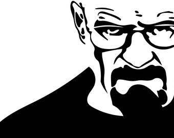 Heisenberg (Breaking Bad) Concrete Print