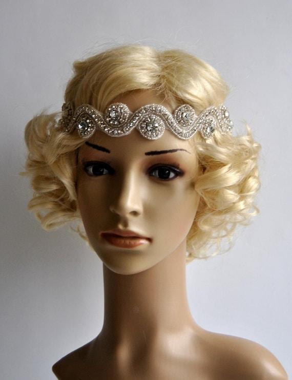 Rhinestone Headband Wedding Headband Crystal Headband