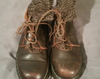 Brown Leather Beaver Creek Hiking Boots 7