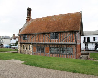 Moot Hall In Aldeburgh