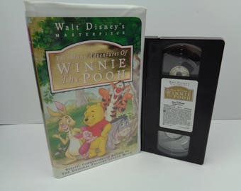 Disney The Many Adventures of Winnie the Pooh VHS