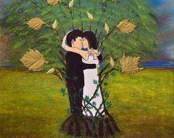 The tree of Love painting