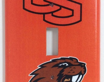 Oregon State Beavers Single Light Switch Plate Cover
