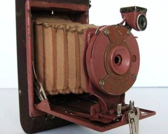 Kodak Rainbow Hawkeye Folding Camera