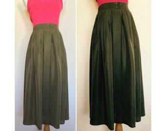 Full A-line Skirt // Midi