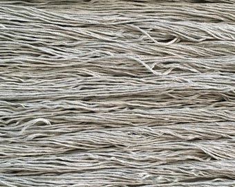 Hand dyed embroidery floss | natural dyed | sage green | embroidery thread | stranded cotton | vegan | eco friendly