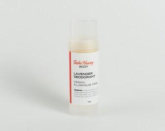 Lavender Deodorant, Vegan Deodorant, Aluminum Fee Deodorant