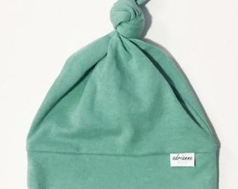 Newborn Topknot Hat, Newborn Hat, Topknot, Baby Hat, Baby Gift