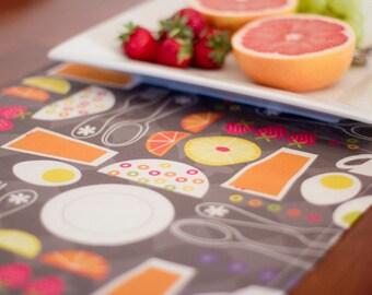 Retro Breakfast Table Runner