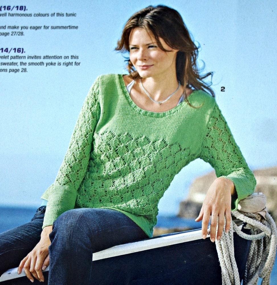 Knitting Patterns Sandra Knitting Magazine May 2009 Crochet Patterns ...