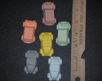 Set of 6 Race Car Hot Wheels sidewalk chalk
