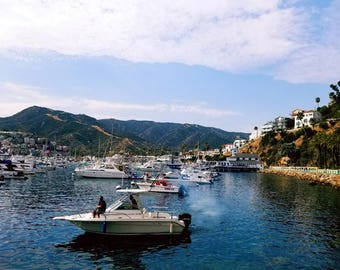 Lustre Fine Art Print of original photograph - Avalon, Catalina, CA