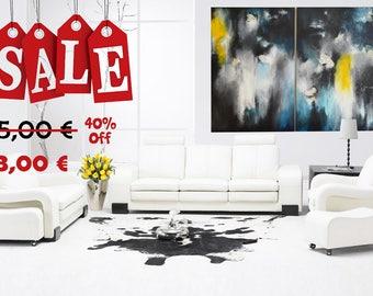 Sale 40% Pittura acrilica originale  2 (150x100cm)