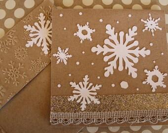 Antique Snow Card -II