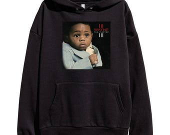Lil Wayne Tha Carter 3 Hoodie Classic Hip Hop Rap Style Sweatshirt Young Money Cash Money Records Weezy Carter New
